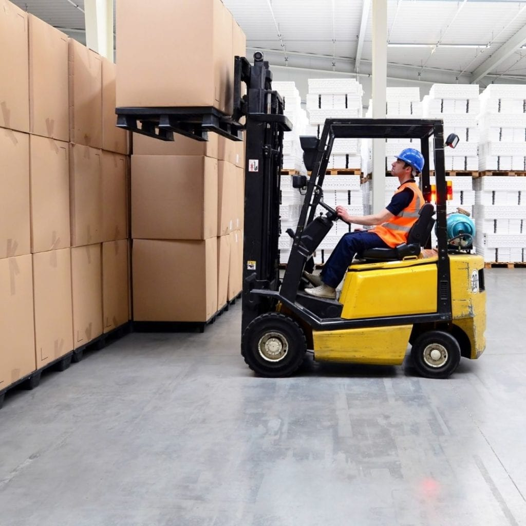 Sort and Pack Columbus Ohio warehousing forklift wholesale